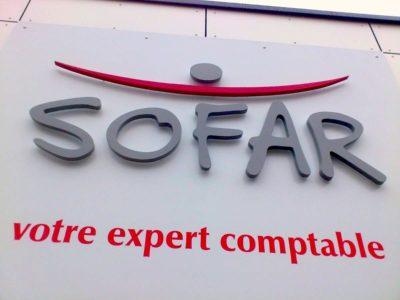 creation enseigne SOFAR 2 guyonnet publicite fontenay le comte vendee 85