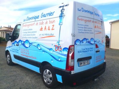 marquage camion covering guyonnet publicite fontenay le comte vendee