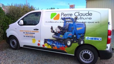 marquage camion covering trafic guyonnet publicite fontenay le comte vendee