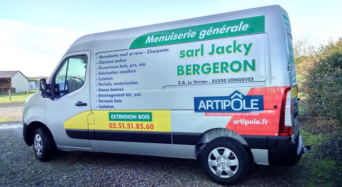 marquage camion guyonnet publicite fontenay le comte vendee