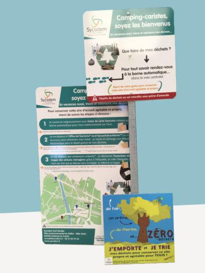 Panneaux Sycodem camping - GUYONNET PUBLICITE Vendée