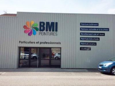 Enseigne BMI - Guyonnet Publicité Fontenay-le-comte