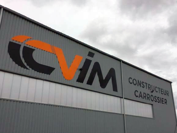 Enseigne CVIM - Guyonnet Publicite- Fontenay-le-Comte