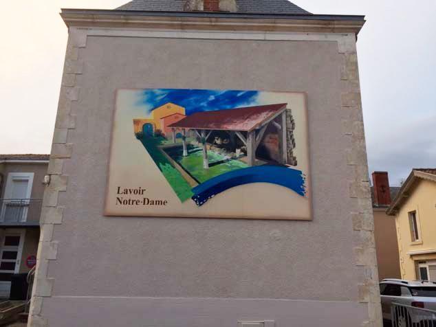 Lavoir Notre Dame - Guyonnet Publicité Fontenay-le-Comte