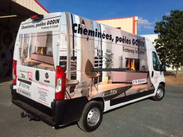Marquage camion - Guyonnet Publicité Fontenay-le-Comte