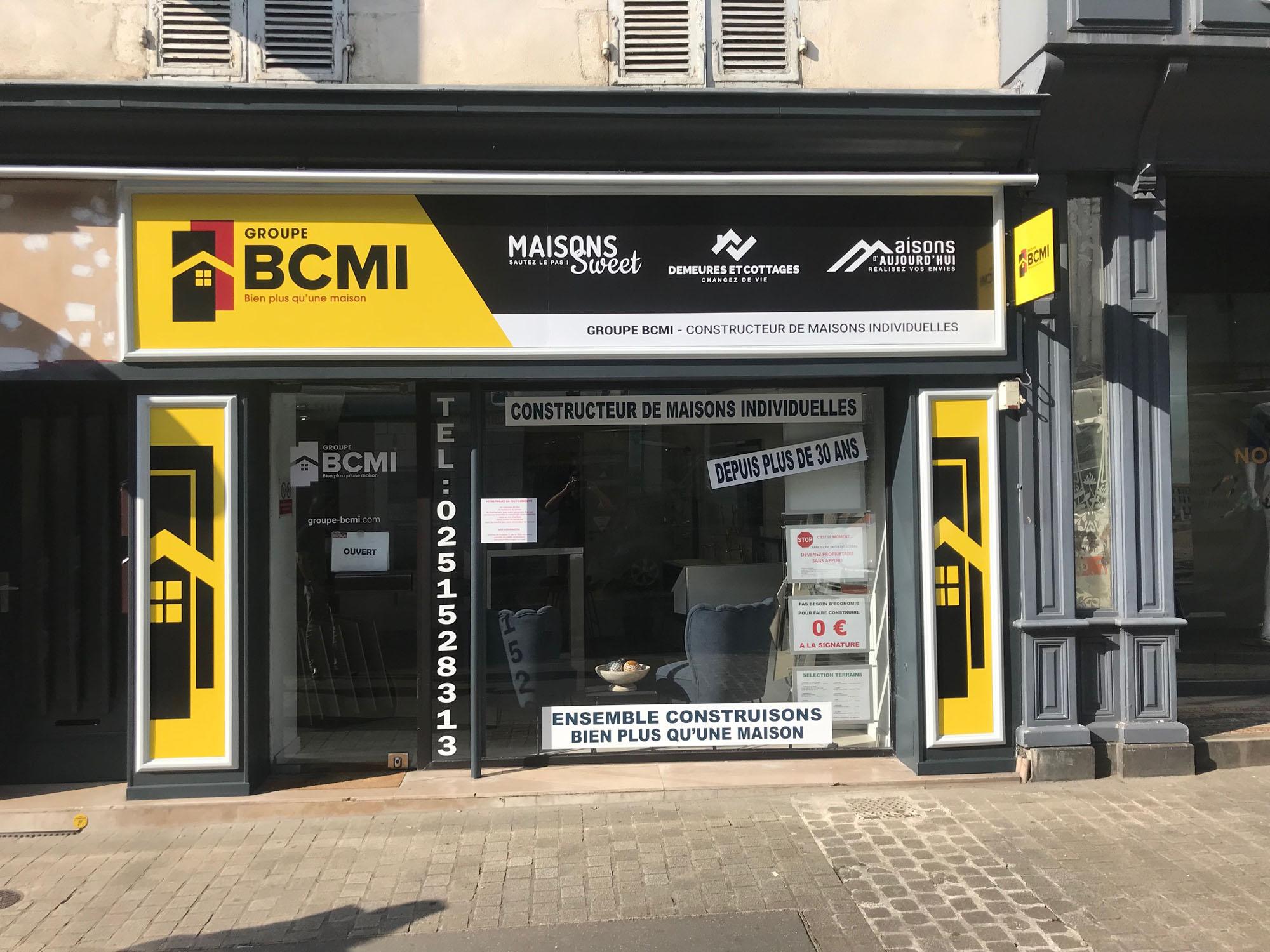 Enseigne BCMI - Guyonnet Publicite Fontenay le Comte