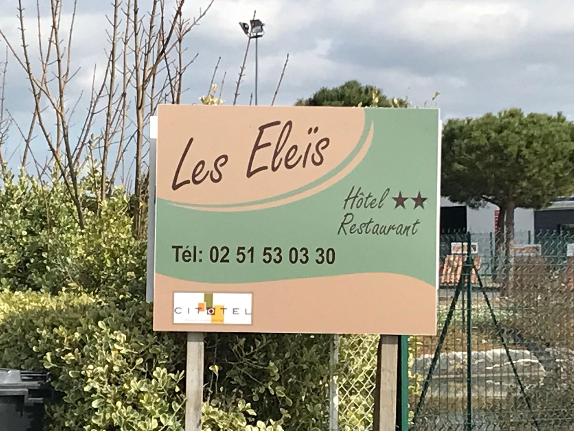 Panneau les Eleis - Guyonnet Publicite Fontenay le Comte